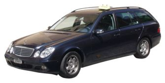 Taxi: Mercedes E classe station wagon max. 4 passengers