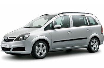 Opel Zafira for max. 4 pax